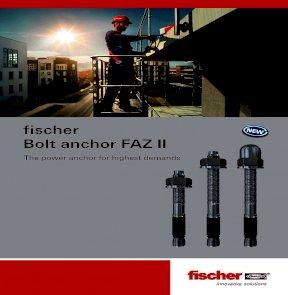 Fischer FAZ II Anchor Bolts 12//100/HBS 522951