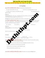 40 câu từ TRƯỜNG từ đề các TRƯỜNG THPT CHUYÊN image marked image marked
