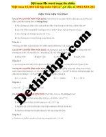 38 câu điện TÍCH điện TRƯỜNG từ đề các TRƯỜNG THPT CHUYÊN image marked image marked