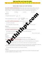 8 câu DÒNG điện TRONG các môi TRƯỜNG từ đề các TRƯỜNG THPT CHUYÊN image marked image marked
