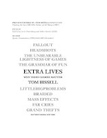Tom bissell extra lives why video games matter(bookfi org)