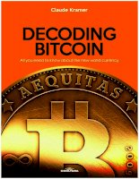 Cooltura decoding bitcoin all you need to know about the new world currency mar 2015