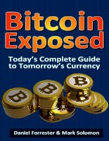CreateSpace bitcoin exposed todays complete guide to tomorrows currency may 2013