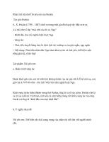 Phân tích bài thơ tôi yêu em của puskin