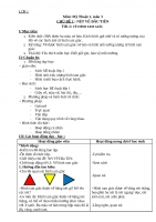 Luyện tập mĩ thuật lớp 1 chủ đề 1 tiết 3