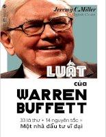 Luật của warren-buffett-jeremy-c-miller