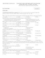 ĐỀ tự ôn LUYỆN số 7 + đáp án CHI TIẾT