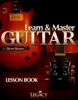 Learn  master guitar vietnamese