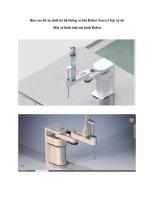 Thiết kế Robot Scara 3 bậc tự do (final version kèm mô hình 3D, bản vẽ cad)