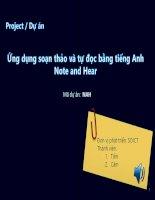Bài 14 demo quản trị dự án