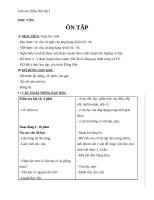 Giáo án Tiếng Việt 1 bài 90: Ôn tập các vần có kết thúc âm P