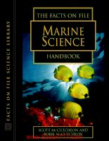 The facts on life marine science handbook