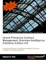 Oracle prmavera contract management