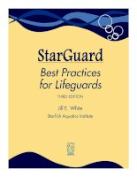 StarGuard best practices for lifegouards