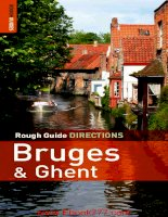 Rough guide driection bruges and ghent
