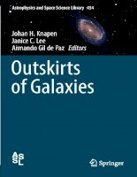 Outkirts of galaxies