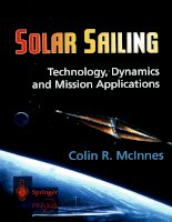 Solar sailing technology dynamics and mission application