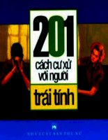 cafebook org 201 cach cu xu voi nguoi trai tinh   nguyen kim dan (1)
