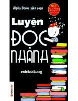 Luyen doc nhanh cafebook org   alpha books