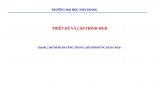 CHỦ ĐỀ 2: MÔ HÌNH ĐA TẦNG TRONG LẬP TRÌNH ỨNG DỤNG WEB