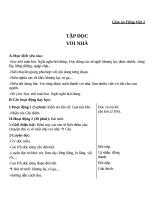 Giáo án Tiếng Việt 2 tuần 24 bài: Tập đọc  Voi nhà