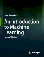 An introduction to machine learning 2nd edition