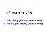 VE HINH CHIEU THU 3 CO GIAO TUYEN ppsx