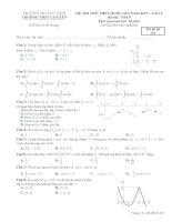 toanmath com   đề thi thử toán THPTQG 2019 lần 2 trường THPT chuyên đại học vinh – nghệ an