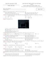 đề thi thử THPTQG 2019   vật lý   THPT chuyên đại học vinh   lần 2   có lời giải