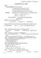 Lý thuyết và Bài tập về oxi ozon có đáp án  Hóa học 10.