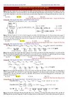 Tuyển chọn 64 bài toán hóa học hay+lời giải chi tiết luyện thi THPTQG 2019