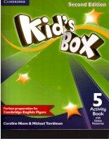 Kids box 5 second edition activity book