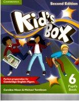 Kids box 6 second edition pupils book