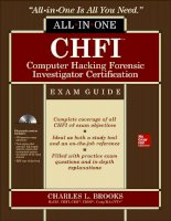 CHFI computer hacking forensic investigator certification all in one exam guide 1st edition