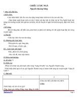 Giáo án Ngữ văn 9 bài 15: Chiếc lược ngà (trích)