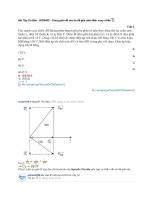 Bài tập cơ bản   b030402 – dùng giản đồ véc tơ để giải toán điện xoay chiều