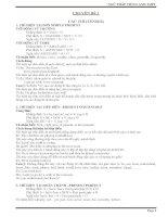 20 chuyên đề ngữ pháp Tiếng Anh ôn thi THPT Quốc gia