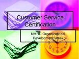 Customer service version 081103 NMHU