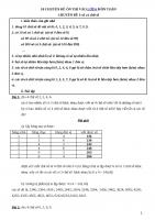 10 chuyên đề ôn thi vào lớp 6 môn toán