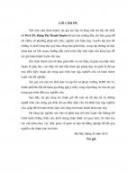 Luận văn thạc sỹ - Biện pháp phát triển chuyên môn, nghiệp vụ sư phạm cho đội ngũ giáo viên trường Trung học phổ thông Ba Vì, thành phố Hà Nội