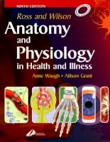 Anatomy and physiology in health and illness 9th ed    a  waugh, a  grant (elsevier, 2001)