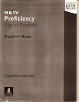 Longman exam skills   new proficiency use of english teachers book