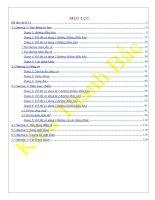 510 bài tập đồ thị ôn tốt nghiệp Lý 12