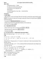 Hướng dẫn giải toán lớp 8 trên máy tính casio FX 570MS
