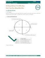 Vật lí 12 - Sử dụng đường tròn hỗn hợp giải các bài toán dao động điều hòa