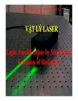 Vật lý laser  ĐHVinh