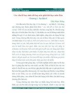 Hóa 11 - Các vấn đề gặp phải khi học chương Sự điện li