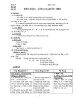 Giáo án vật li lớp 9 tuần 6  tiet 14