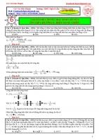 Tuyển các bài tập điện xoay chiểu_hay_lạ_khó_giải chi tiết