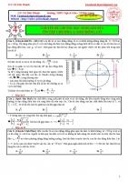 Bài tập dao dộng cơ_vật lí 12_hay_lạ_khó_giải chi tiết